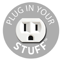 Plug In Your Stuff Logo