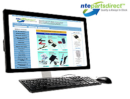 NTE Parts Direct Computer Screen