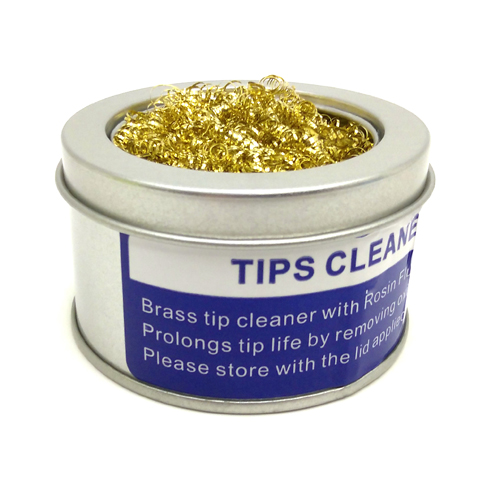 Cleaning Ball Iron Tips Soldering Iron Wire Sponge Brass Ball Cleaner Ball J