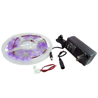 LED STRIP KIT PURPLE 16.4