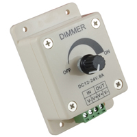 LED DIMMER KNOB OPERATED