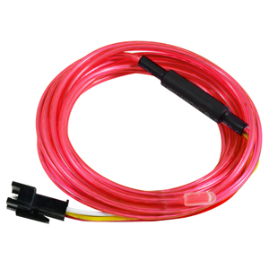 EL CHASING WIRE 2.3MM RED