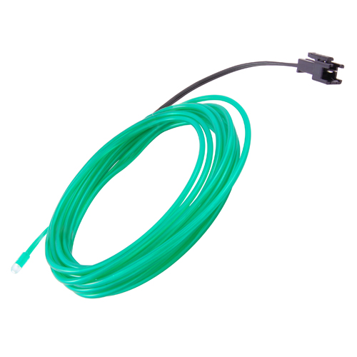 EL WIRE GREEN 2.3MM DIA