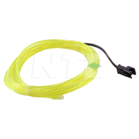 EL WIRE YELLOW GREEN 2.3M
