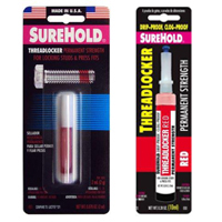 Anaerobic Threadlocker, High Strength Red