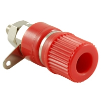 BANANA SOCKET 4MM RED