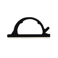 WIRE CLIP BLACK 50/BAG