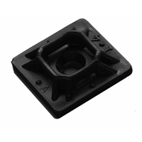 MOUNTING PAD 3/4IN BLACK