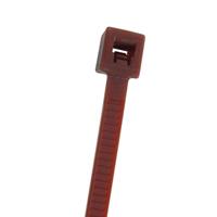 NTE 04-04181       CABLE TIE 18 LB. MINIATURE 4.1 LENGTH BROWN NYLON 100/BAG