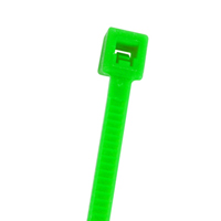 CABLE TIE 7.5IN FLR GREEN
