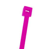 CABLE TIE 7.5IN FLR PINK