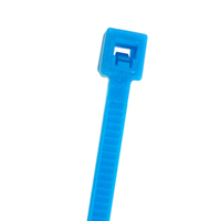 CABLE TIE 7.5IN FLR BLUE