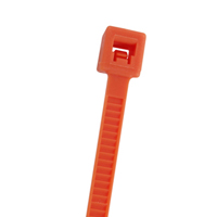 CABLE TIE 11.2IN ORANGE