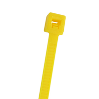 CABLE TIE 11.2IN YELLOW