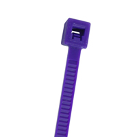 CABLE TIE 11.2IN PURPLE