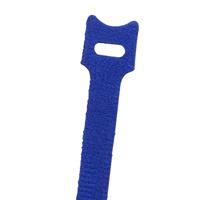 NTE 04-0640HL6     VELCRO TIE 6 INCH LENGTH BLUE 10/PACK