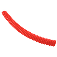 SPLIT LOOM 1/4 INCH RED