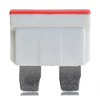 FUSE-BLADE 25A 80V CLEAR