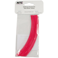 H/S 1/16IN 6IN RED THIN