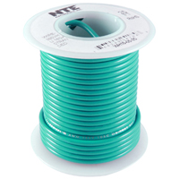 NTE WH610-05-1000  HOOK UP WIRE 600V STRANDED 10 GAUGE GREEN 1000 FOOT SPOOL