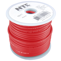 WIRE-TEST LEAD 18AWG RED