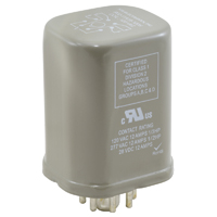 RELAY-10A-A/C 120V SEALED