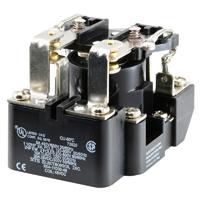 RELAY-DPDT 30A 48VDC