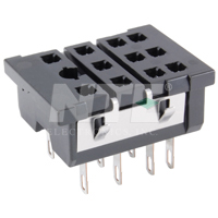 SOCKET-11PIN  PANEL MOUNT