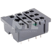 SOCKET-11PIN  PC MOUNT