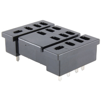 SOCKET 4PDT 14-PIN