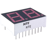 LED DISPLAY RED 0.560 IN