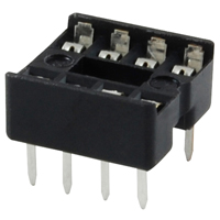 SOCKET-MINI-DIP 8-PIN