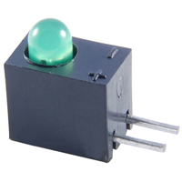 LED-T-1 RIGHT ANGLE GREEN