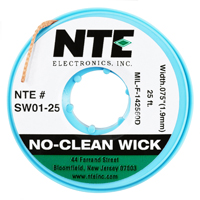 NC WICK #3 GREEN 25FT
