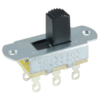 SWITCH/SLIDE/DPDT/6A/125V