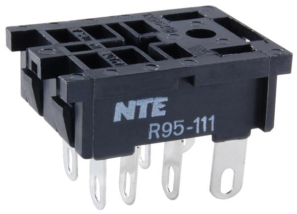 R95 111 big nte electronics relays, contactors relay socket panel mounts  at soozxer.org