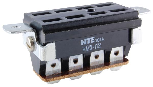 R95 112 big nte electronics relays, contactors relay socket panel mounts  at soozxer.org