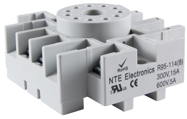 NTE R95-114 11 PIN OCTAL SOCKET